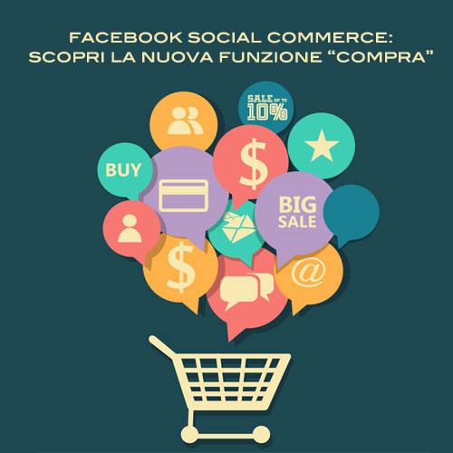 "Facebook Social Commerce: in arrivo il pulsante ""Compra"""