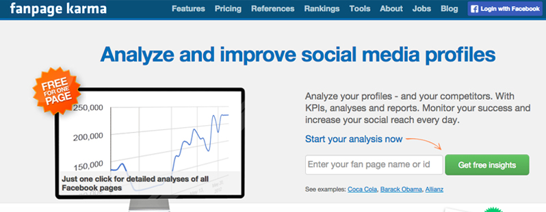Facebook Analysis Tools: Fanpage Karma