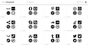 Icone Social Media - Iconmonstr