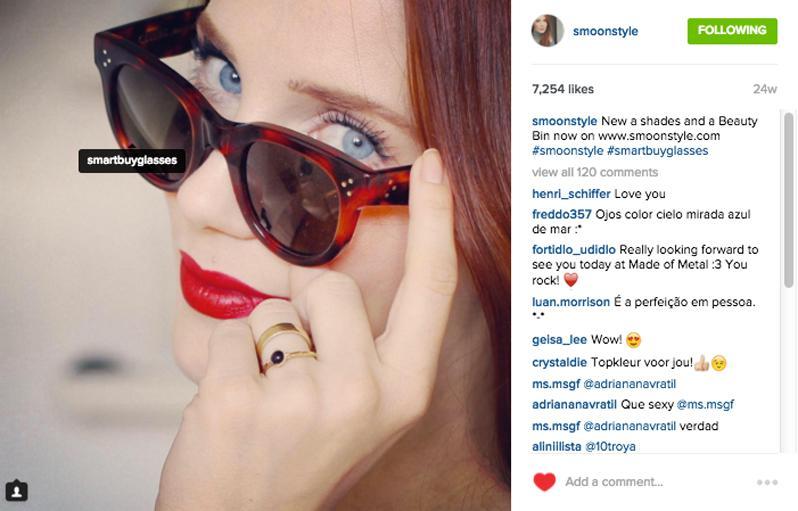 Influencers marketing Instagram