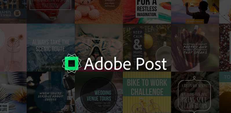 Adobe Post