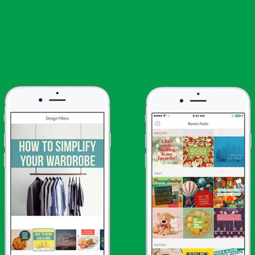 Adobe Post: scopri l'app per creare grafiche per i social