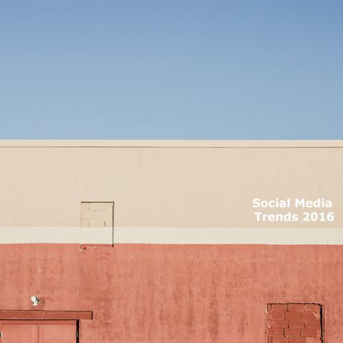 Tendenze Social Media 2016: i trends da conoscere