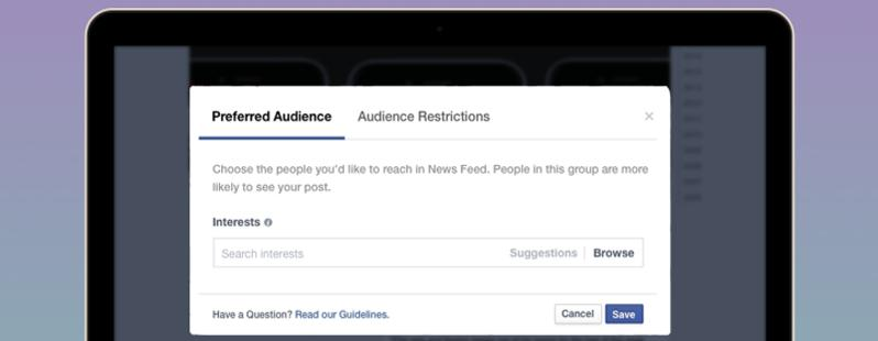 Facebook new optimization tool