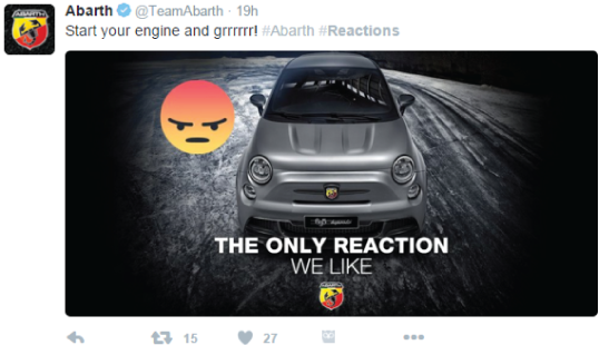 abarth reactions