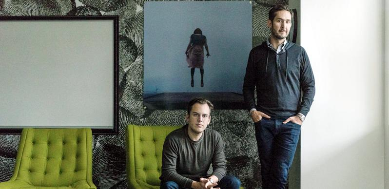 Mike Krieger and Kevin Systrom, Instagram's co-founders