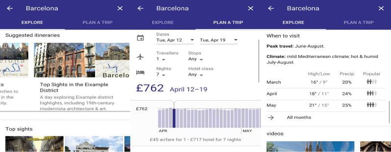 Google Destinations: ecco l'agenzia di viaggi digitale