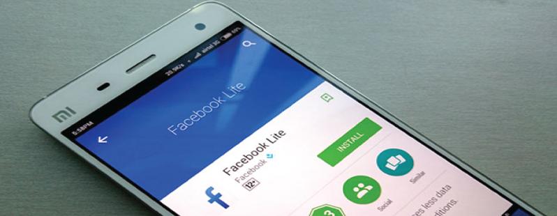 Facebook Lite: nuove funzioni per festeggiare i 100 milioni di utenti
