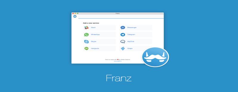 Franz: l'app che raccoglie i servizi di messaggistica