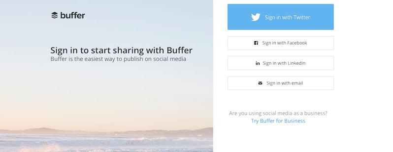 strumenti social media buffer