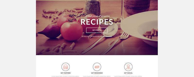 Template Landing Page gratis