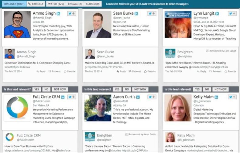 Socedo social media automation tools