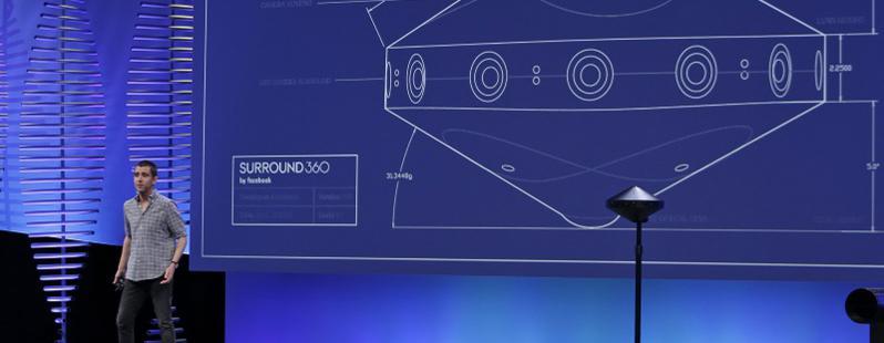 Surround 360 Facebook: la videocamera per la Realtà Virtuale