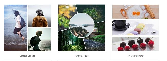 creare foto collage fotor