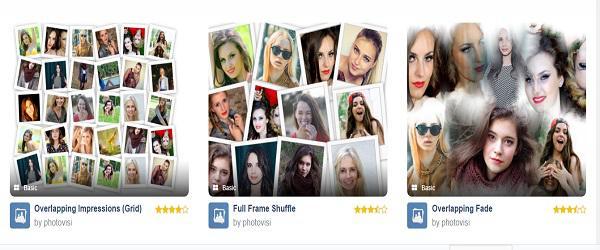 creare foto collage photovisi
