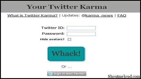 TwitterKarma