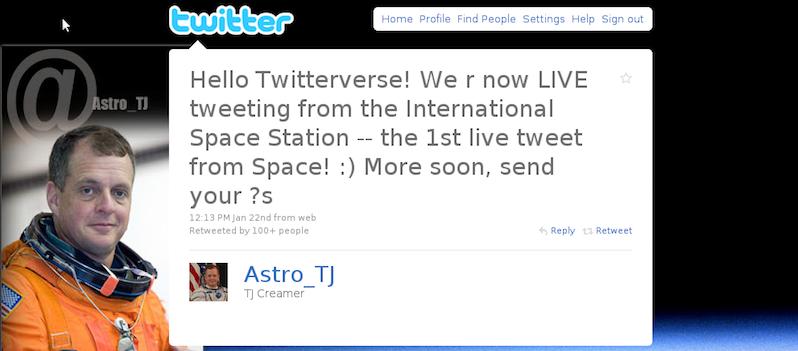 live tweeting eventi