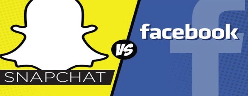 snapchat contro facebook