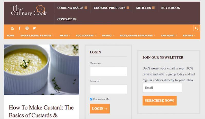 the culinary cook elearning