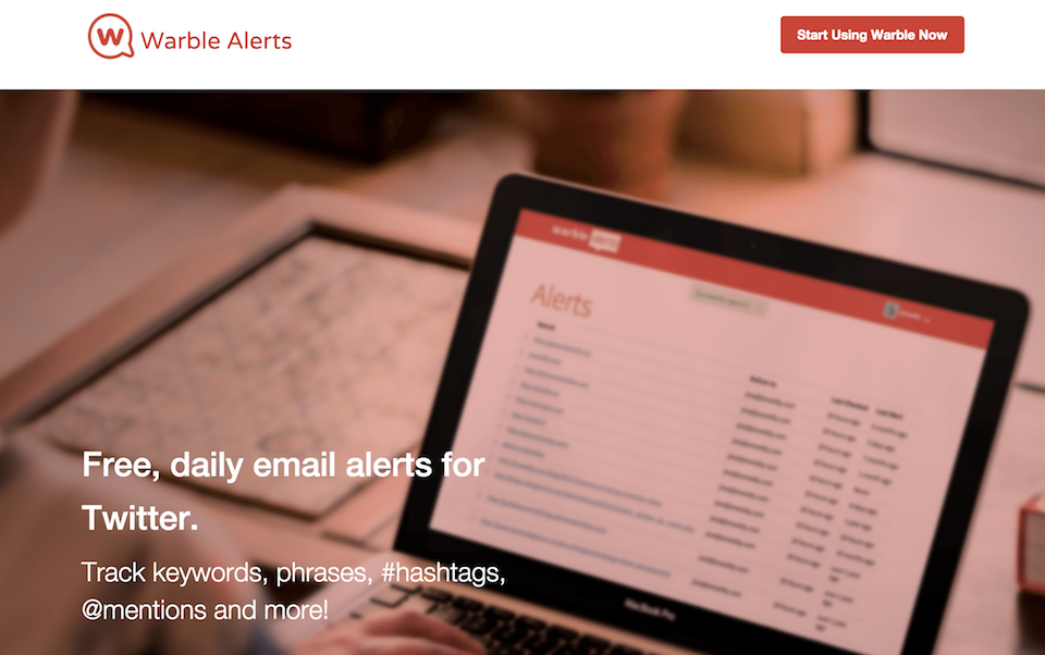 warble alerts