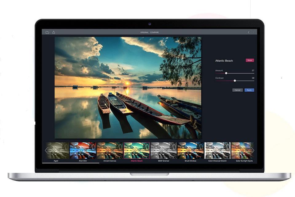 App per filtri foto