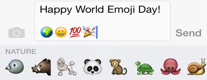 World Emoji Day 17 Luglio 2016