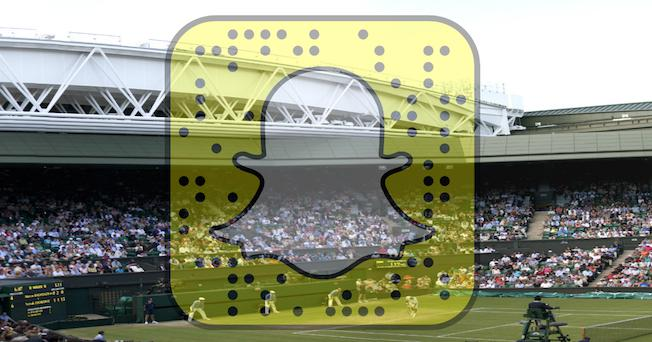 Snapchat-Wimbledon