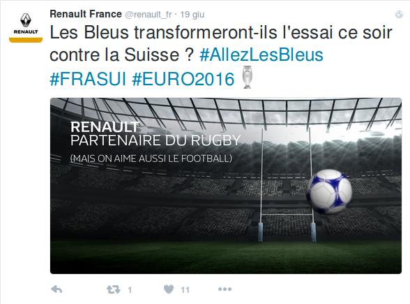 Social Media Sport Renault