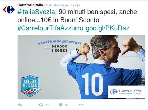 Social Media Sport Carrefour