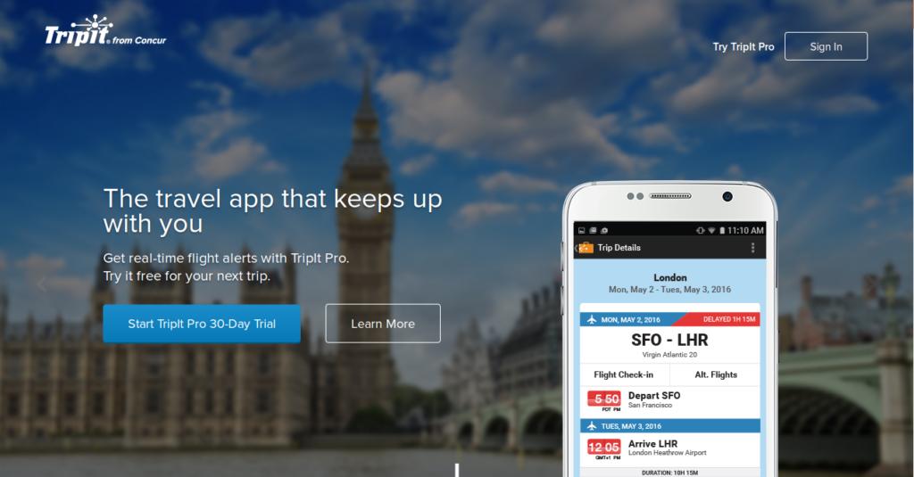 Social Network per Viaggiatori Tripit