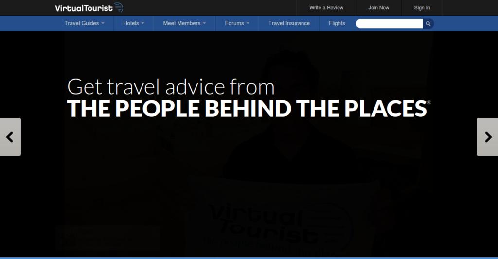 Social Network per Viaggiatori Virtual Tourist