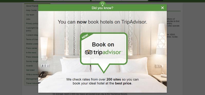 tripadvisor booking