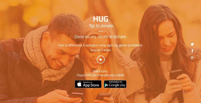 HUG donazioni