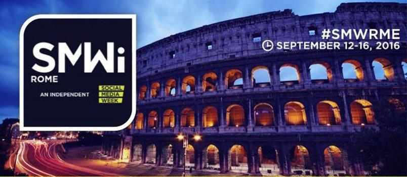 Social Media Week Rome 2016