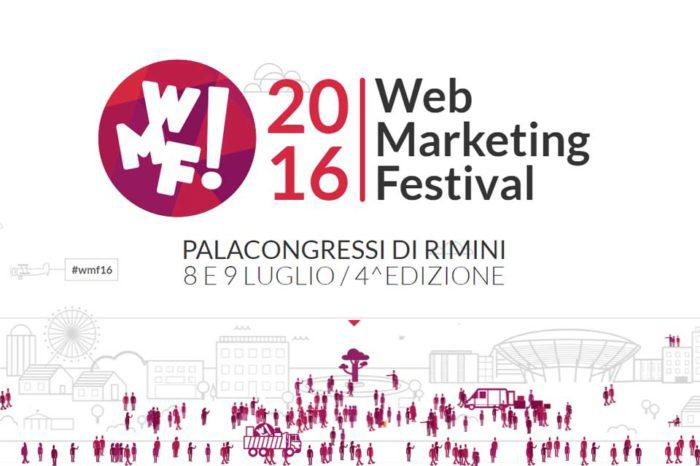 Web Marketing Festival: i numeri dell'evento 2016 a Rimini