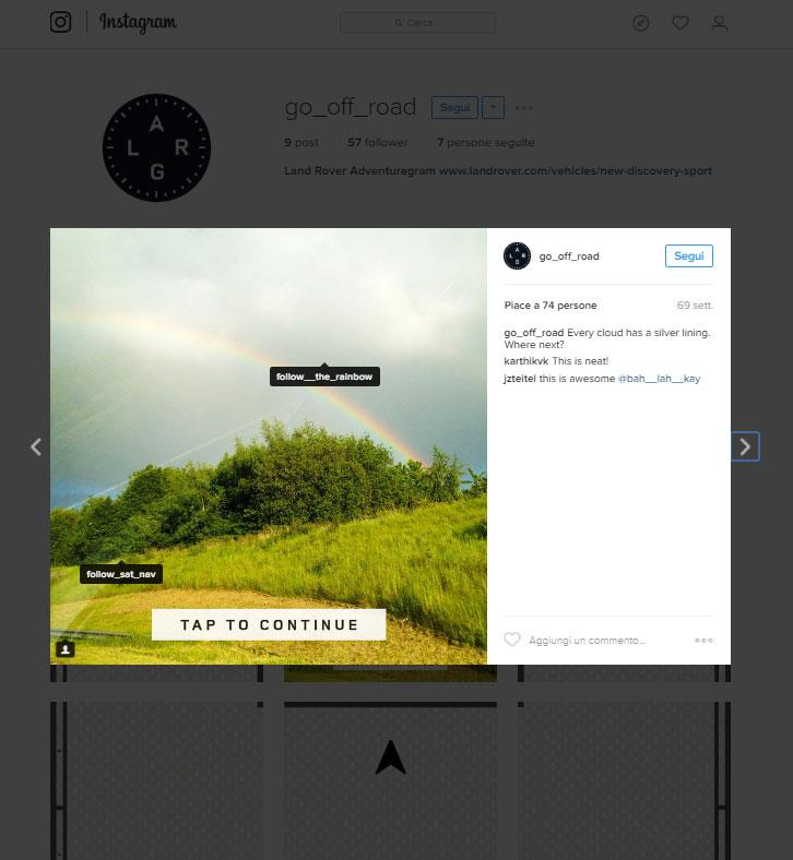 instagram land rover