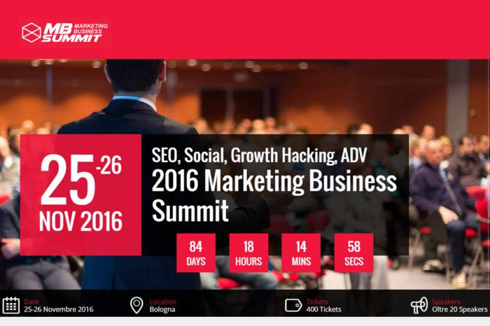 Marketing Business Summit 2016: intervista agli ideatori dell'evento