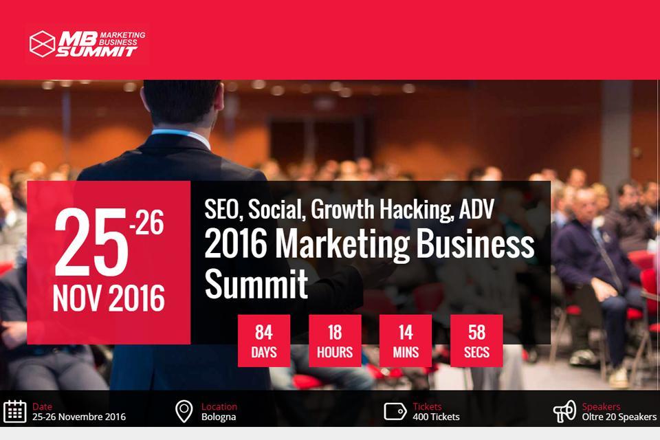 Marketing Business Summit 2016: intervista agli ideatori dell'evento