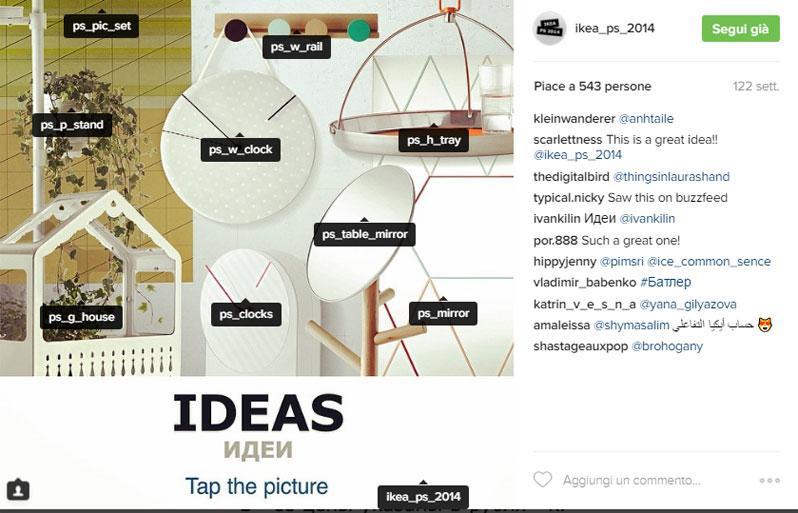 Instagram ikea catalogo