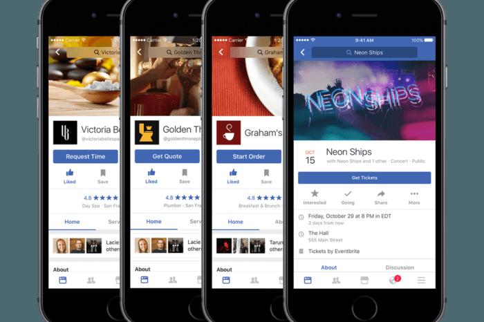 Facebook Recommendations per ricevere consigli dagli amici