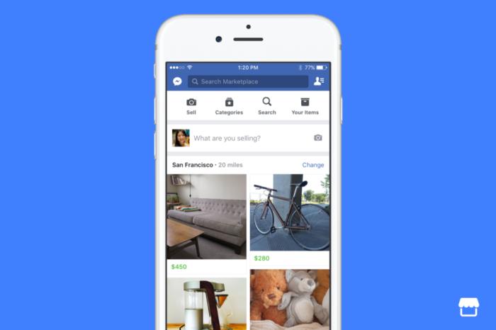 Lanciato Facebook Marketplace: compra e vendi direttamente