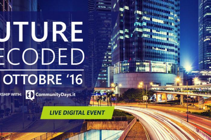 Future Decoded 2016: Microsoft, innovazione e tecnologia