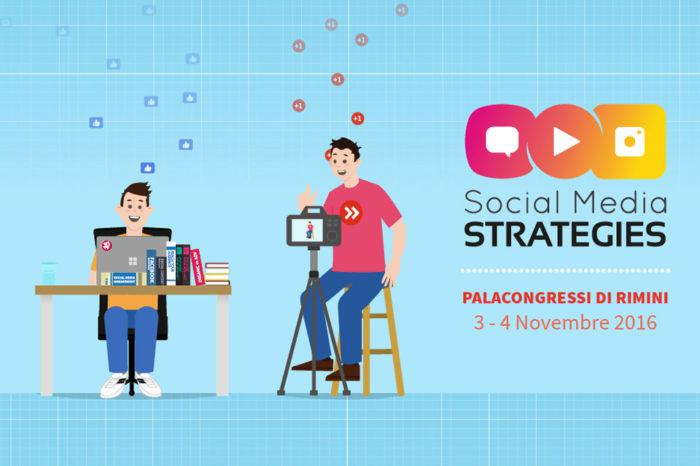 Social Media Strategies, a Rimini il 3 e 4 Novembre 2016‎