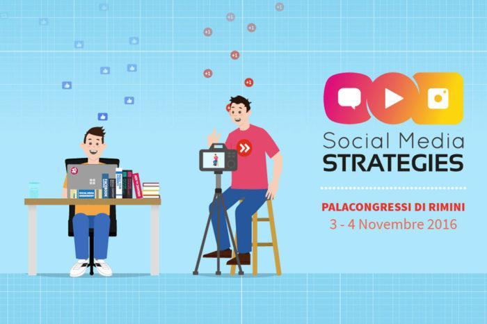 Social Media Strategies, a Rimini il 3 e 4 Novembre 2016