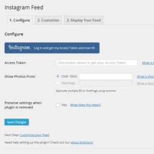 Instagram Plugin WordPress
