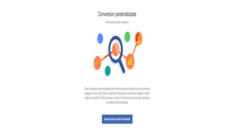Conversioni Facebook Ads