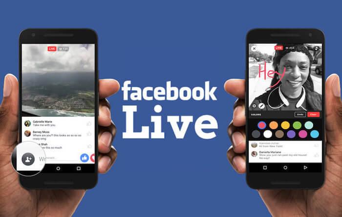 Come utilizzare facebook live per promuovere il tuo brand