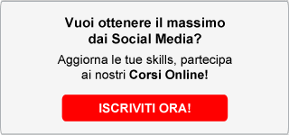 Corsi online social media marketing