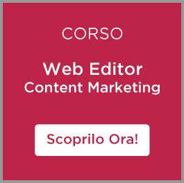 Corsi Online di Social Media Marketing e Web Marketing: corso web editor