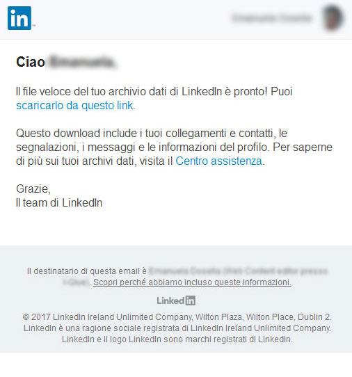 LinkedIn Mail
